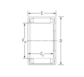 KOYO DLF 16 12 needle roller bearings