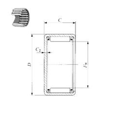 IKO TLAM 1612 needle roller bearings