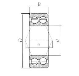 60 mm x 130 mm x 54 mm  Loyal 3312 angular contact ball bearings
