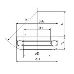 NACHI 53412 thrust ball bearings