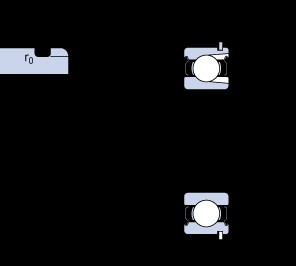 35 mm x 72 mm x 17 mm  SKF 207-2ZNR deep groove ball bearings