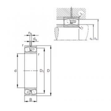 440 mm x 720 mm x 226 mm  FAG 23188-E1A-MB1 spherical roller bearings