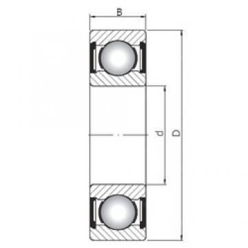 60 mm x 130 mm x 54 mm  Loyal 63312 ZZ deep groove ball bearings