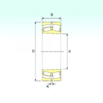 110 mm x 200 mm x 69,8 mm  ISB 23222 K spherical roller bearings