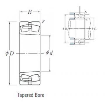 440 mm x 720 mm x 226 mm  NSK 23188CAKE4 spherical roller bearings