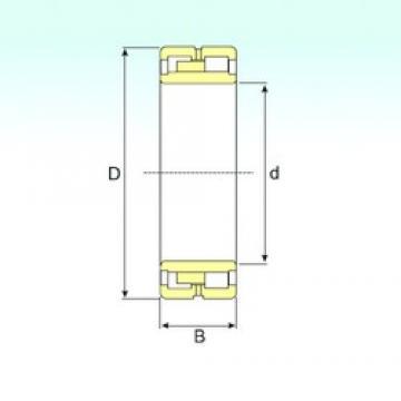 340 mm x 460 mm x 118 mm  ISB NNU 4968 K/SPW33 cylindrical roller bearings
