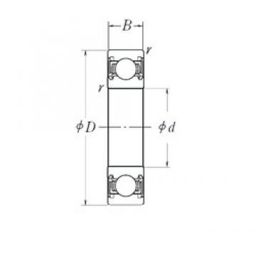 28 mm x 58 mm x 16 mm  FAG SA1014 deep groove ball bearings
