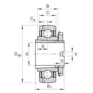 INA GSH35-2RSR-B deep groove ball bearings